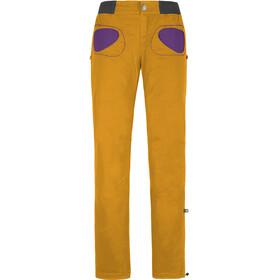 E9 Onda Story broek Dames geel
